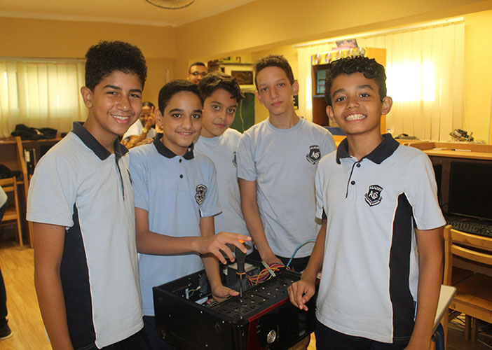 Technology Day for Grade 8